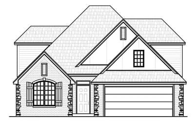 The Buchanan Elite New Home in Jenks, OK