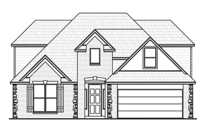 The Cleveland Plus Elite New Home in Jenks, OK