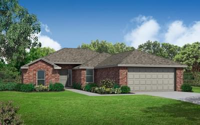 New Home for Sale in Coweta, 27608 E 109th Place S