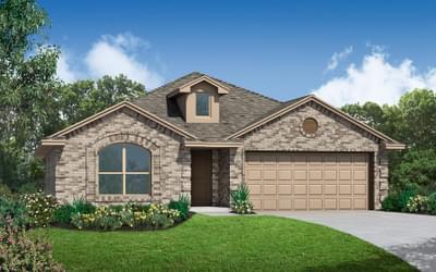 The Adams Elite New Home in Tulsa, Oklahoma