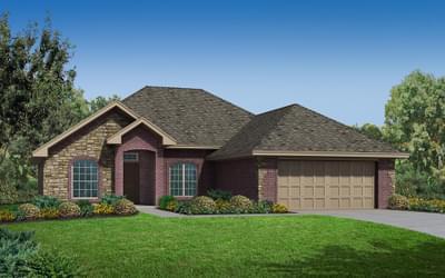The Bailey Elite New Home in Tulsa, Oklahoma
