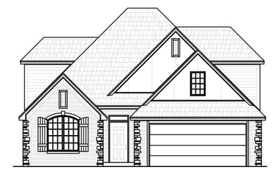 The Buchanon Elite New Home in Tulsa, Oklahoma
