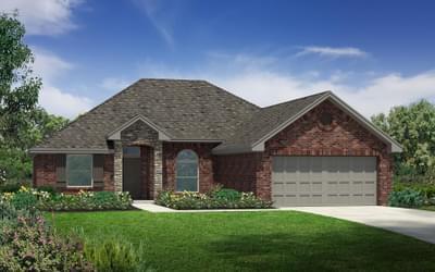 The Carter Plus Elite New Home in Tulsa, Oklahoma