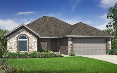 The Lincoln Elite New Home in Tulsa, Oklahoma