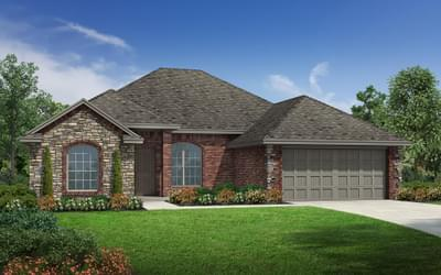 The Lindsey Elite New Home in Tulsa, Oklahoma
