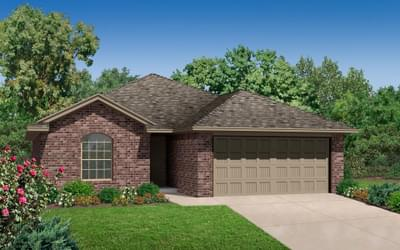 The McKinley Plus New Home in Coweta, OK