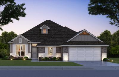 New Home for Sale in Bixby, 14747 South Lakewood Place